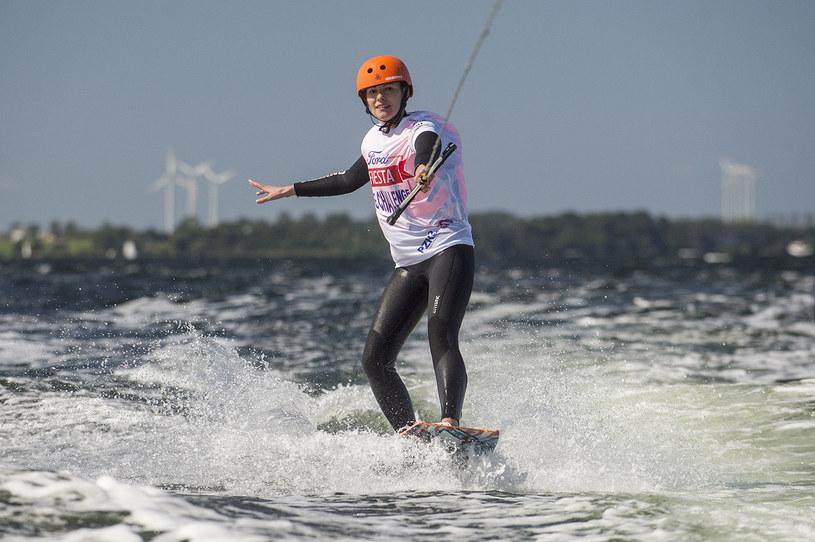Agnieszka Kawiorska jest fanką sportów wodnych /materiały prasowe