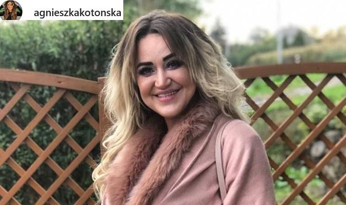 Agnieszka Kotońska ma setki tysięcy fanów na Instagramie /Instagram