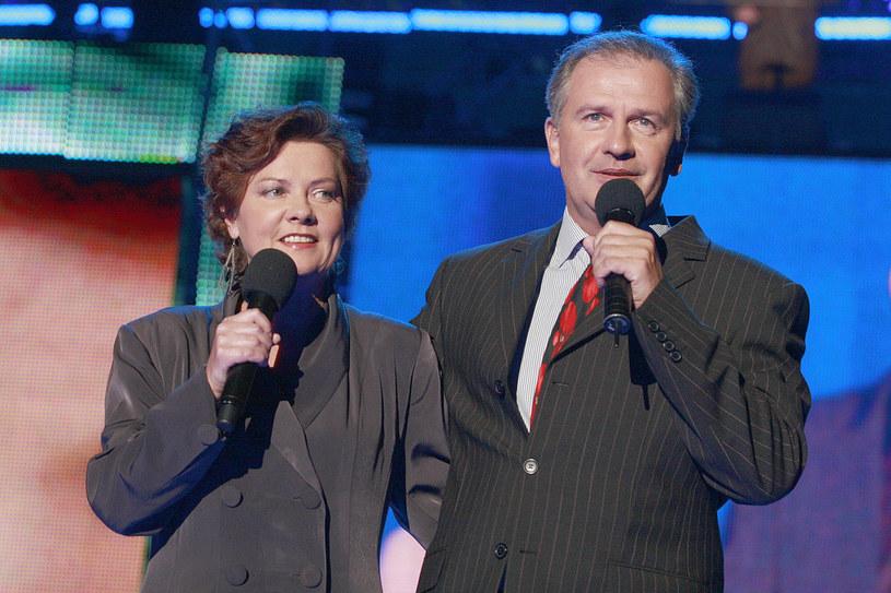 Agnieszka Kotulanka i Tomasz Stockinger, 2007 rok /Jarosław Wojtalewicz /AKPA