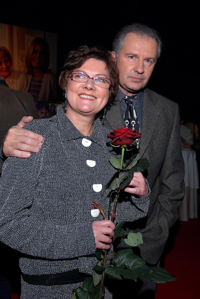 Agnieszka Kotulanka i Tomasz Stockinger /- /MWMedia