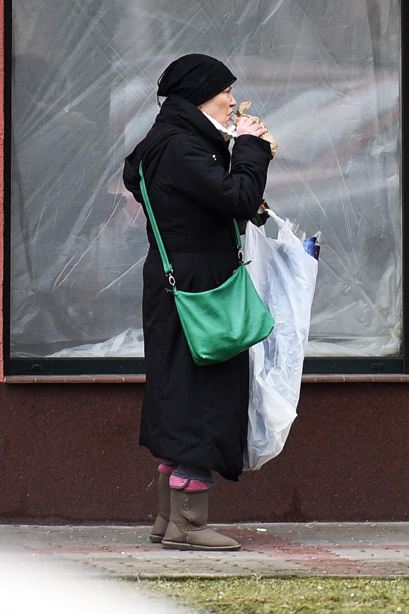 Agnieszka Kotulanka jeszcze parę miesięcy temu! /HANS/WOLF /Newspix