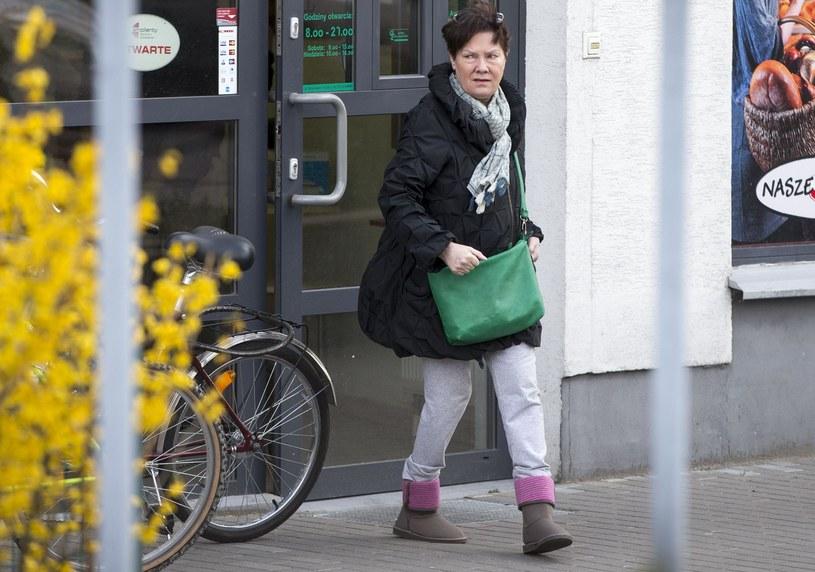 Agnieszka Kotulanka, kwiecień 2015 /Foto IP