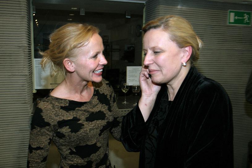 Agnieszka Krukówna i Krystyna Janda, 2013 rok /Palicki /AKPA