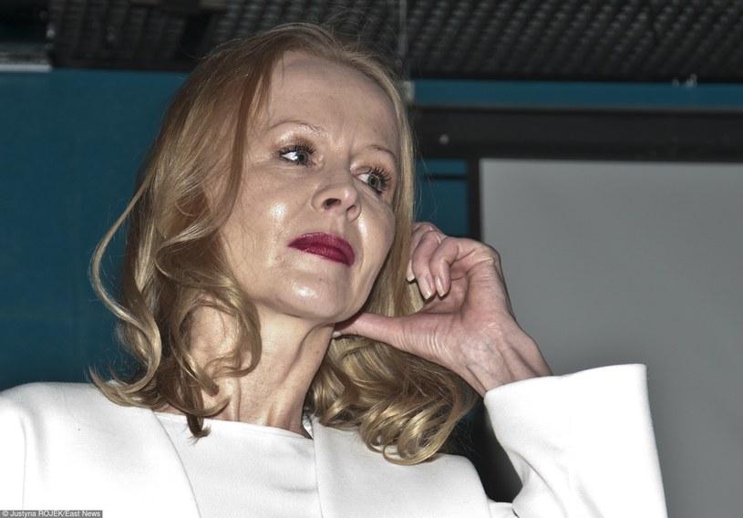 """Agnieszka Krukówna na premierze """"Klary"""" /Justyna Rojek /East News"""