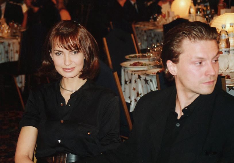 Agnieszka Maciąg, jedna z najpopularniejszych polskich modelek lat 90. /Prończyk /AKPA