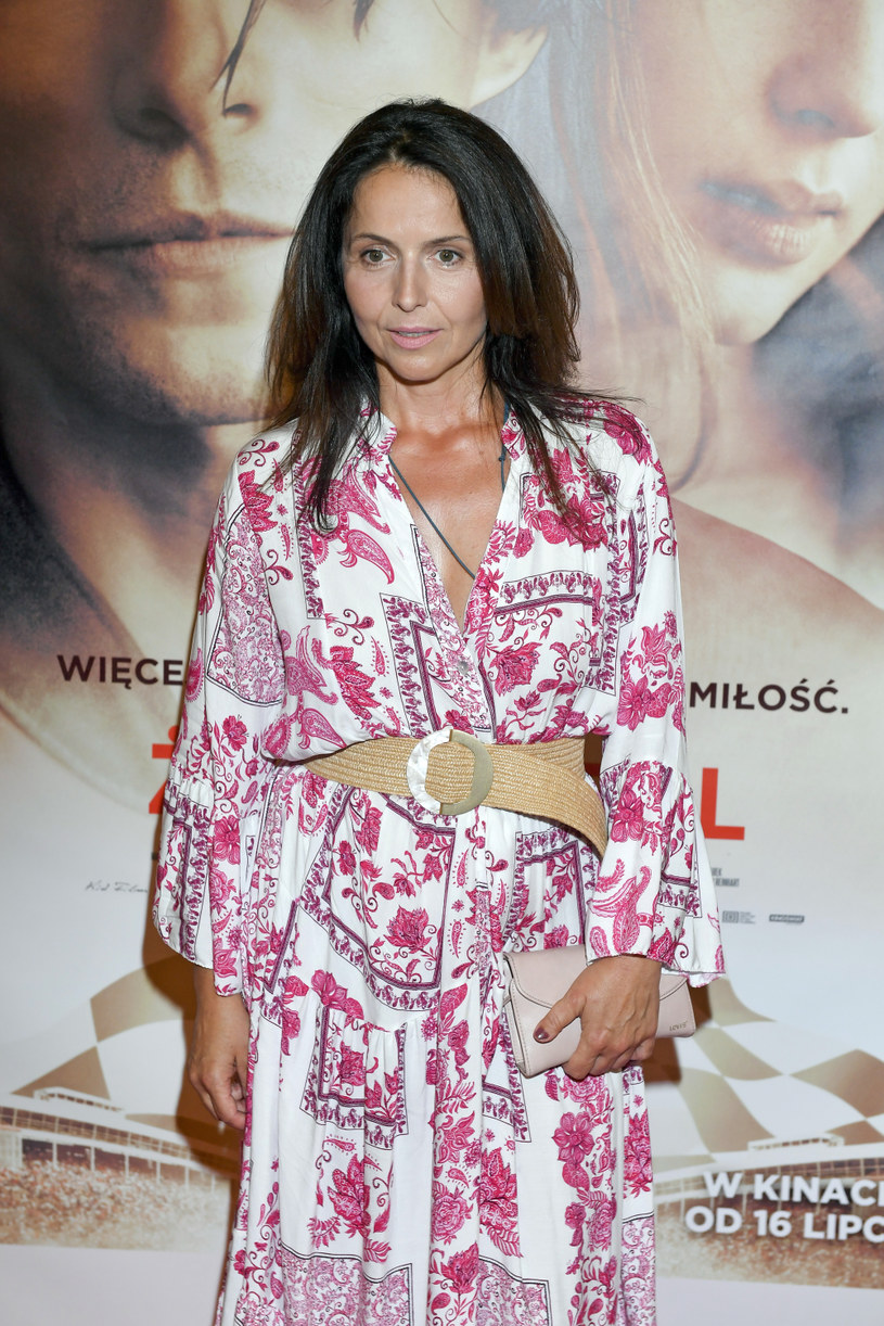 """Agnieszka Michalska na premierze filmu """"Żużel"""" / Mieszko Piętka /AKPA"""
