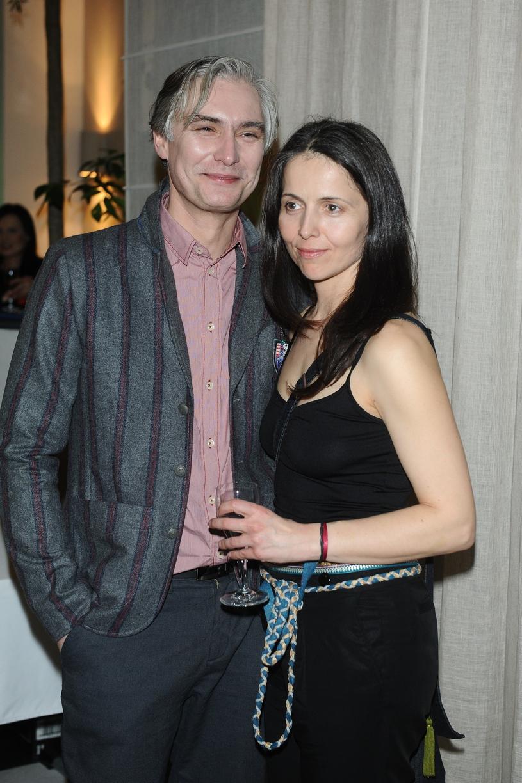 Agnieszka Michalska z mężem w 2014 roku /VIPHOTO /East News