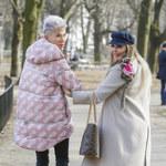 Agnieszka Orzechowska na wiosennym spacerze. Nie była sama!