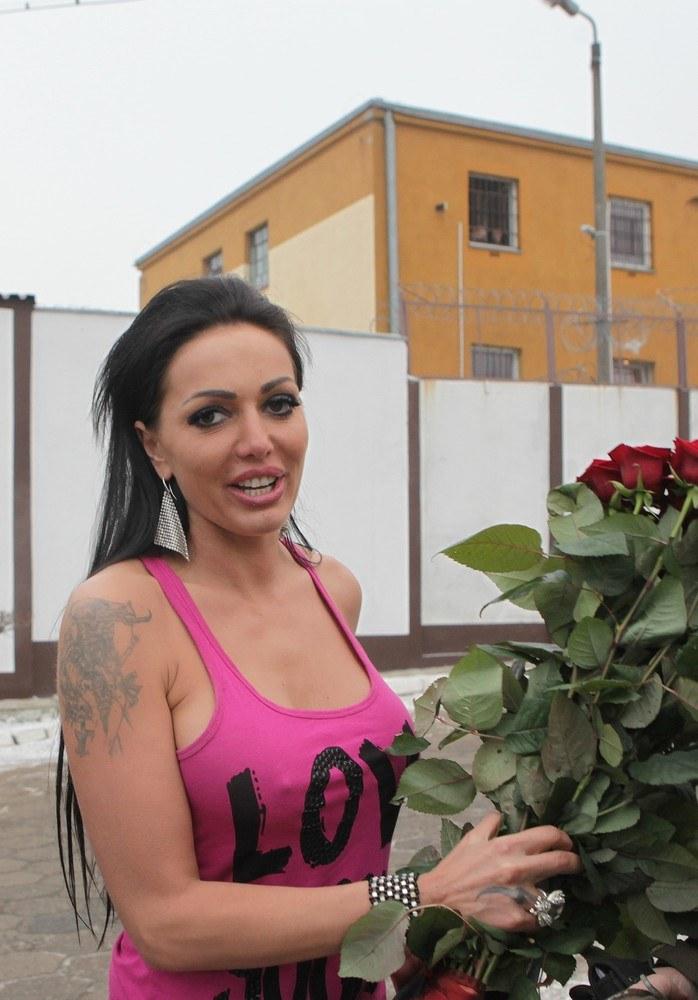 Agnieszka Orzechowska po wyjściu z więzenia (2011 rok) /- /East News