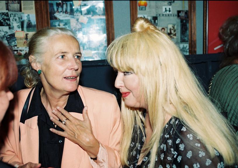 Agnieszka Osiecka i Maryla Rodowicz (1996 r.) /Zenon Zyburtowicz /East News