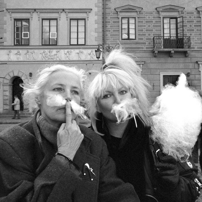 Agnieszka Osiecka i Maryla Rodowicz /Czapliński/Fotonova /East News