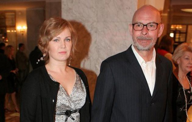 Agnieszka Pilaszewska z mężem /fot.Wojciech Olszanka  /East News