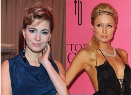 Agnieszka Popielewicz i Paris Hilton/ fot. MWMEedia/Getty Images /