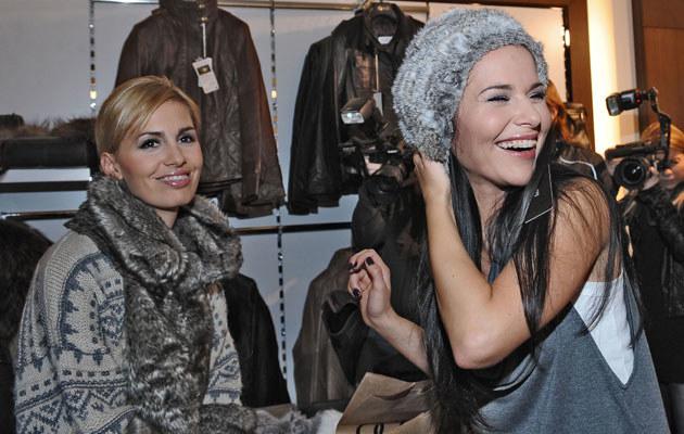 Agnieszka Popielewicz i Paulina Sykut, fot. Andras Szilagyi  /MWMedia