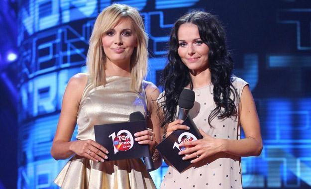 Agnieszka Popielewicz i Paulina Sykut-Jeżyna to jedne z gwiazd telewizji Polsat /Polsat