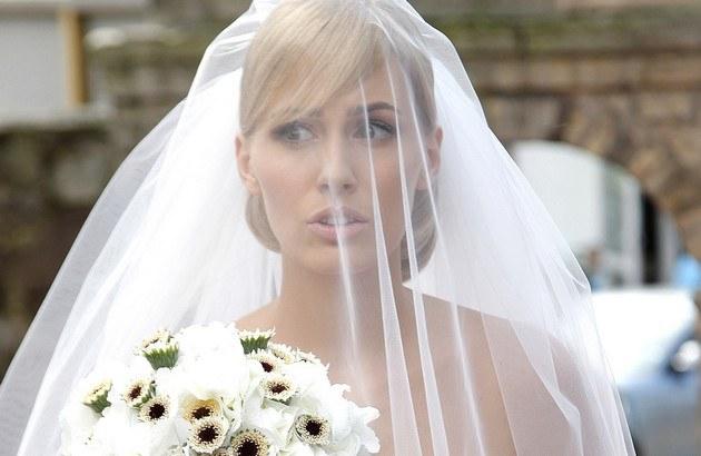 Agnieszka Popielewicz pierwszy ślub brała w 2011 r. /- /AKPA