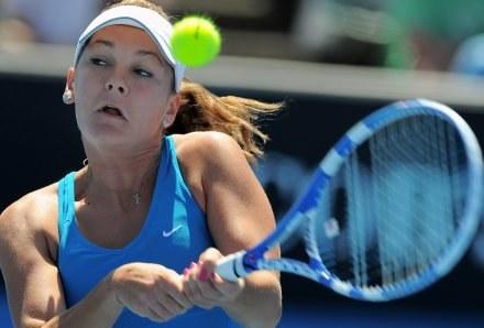 Agnieszka Radwańska awansowała o jedno miejsce w rankingu WTA. /AFP