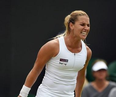 Agnieszka Radwańska - Dominika Cibulkova 3:6, 7:5, 7:9 w 1/8 Wimbledonu