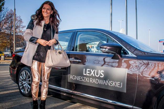 Agnieszka Radwańska dostała kluczyki do nowego Lexusa GS 450h /