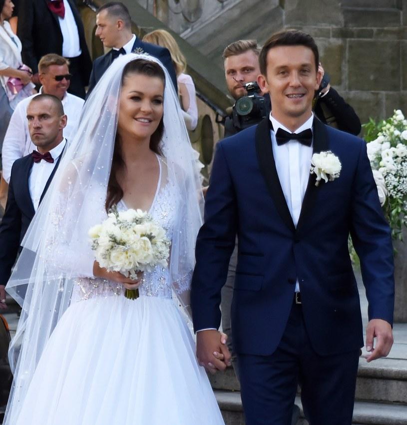 Agnieszka Radwańska i Dawid Celt /Marek Lasyk  /East News