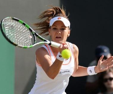 Agnieszka Radwańska - Michelle Larcher de Brito 6:2, 6:0 w Wimbledonie