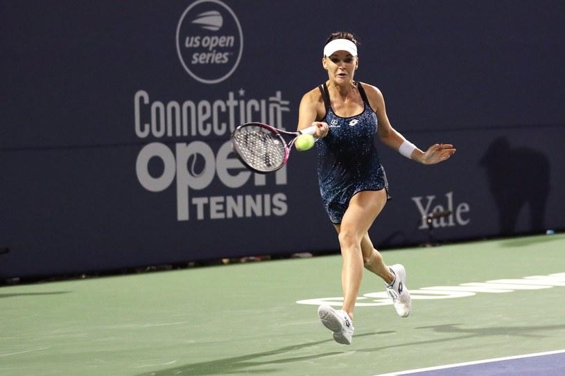 Agnieszka Radwańska na turnieju w New Heaven w 2018 roku /AFP