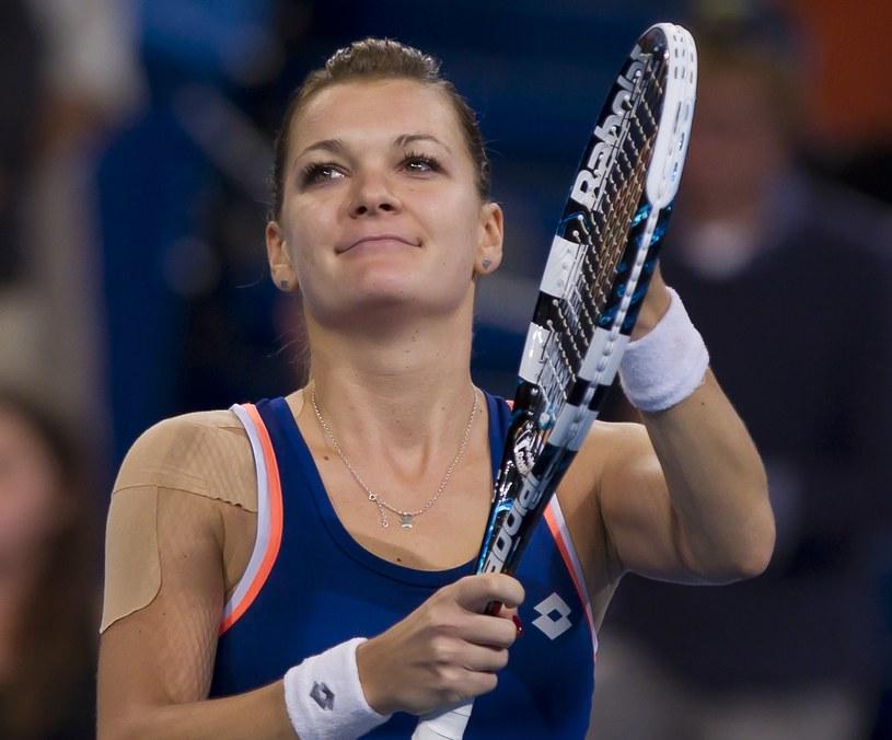 Agnieszka Radwańska, najlepsza polska tenisistka /AFP