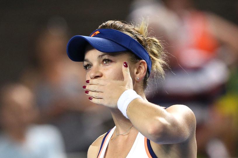 Agnieszka Radwańska - najlepsza polska tenisistka /Getty Images