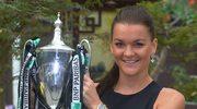 Agnieszka Radwańska najlepszą tenisistką października i z zagraniem miesiąca
