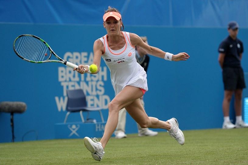 Agnieszka Radwańska - największa gwiazda polskiego tenisa /AFP