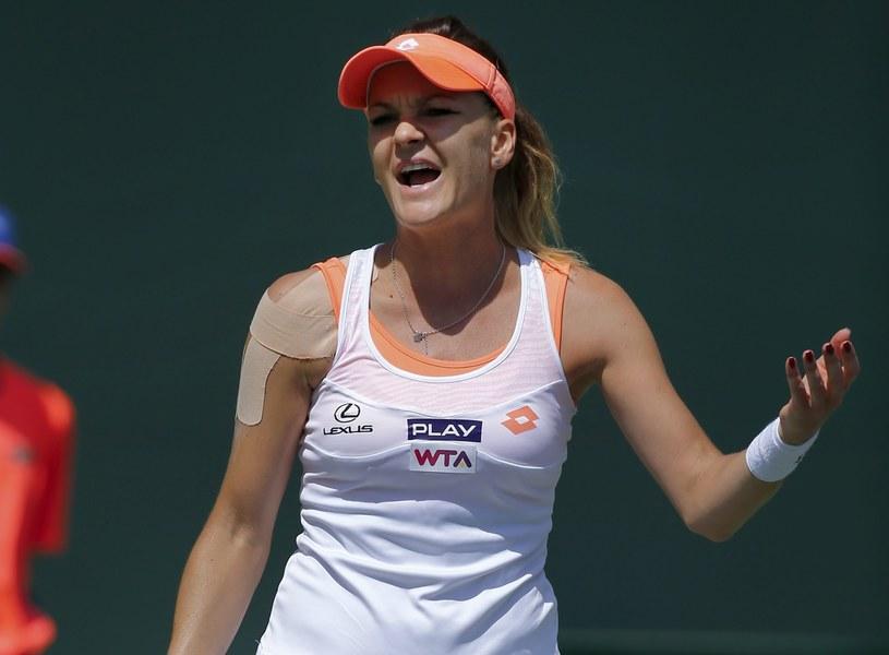 Agnieszka Radwańska nie zagra w półfinale turnieju w Miami /PAP/EPA