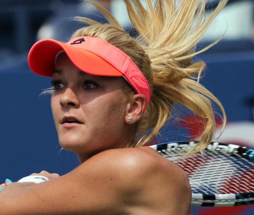 Agnieszka Radwańska podczas US Open /AFP