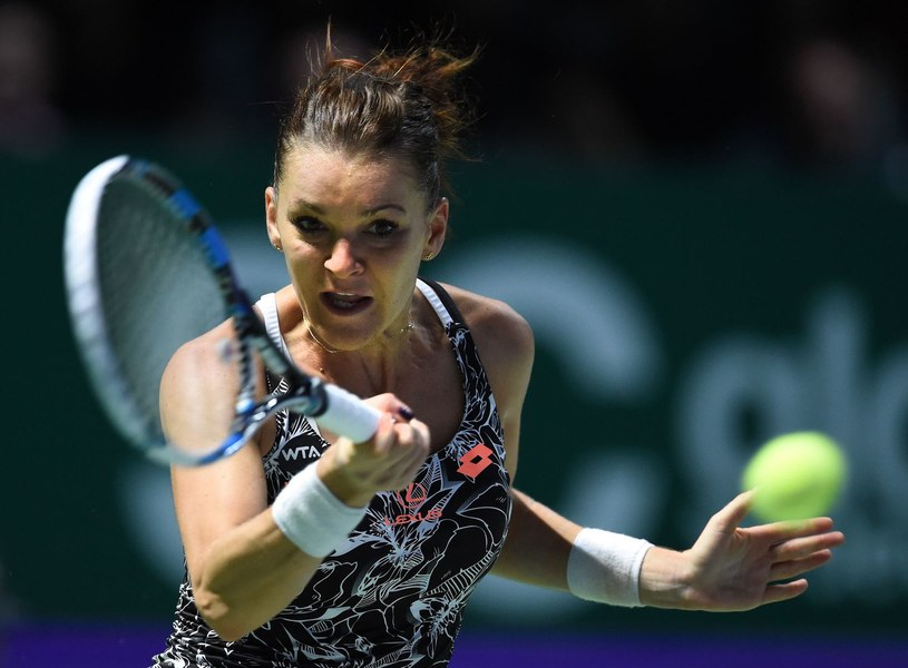 Agnieszka Radwańska podczas WTA Finals 2016 /AFP