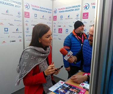 Agnieszka Radwańska: Przed serwisem absolutnie o niczym. Wideo