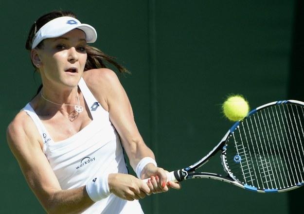 Agnieszka Radwańska spodziewała się dłuższego meczu z Hradec /FACUNDO ARRIZABALAGA /PAP/EPA