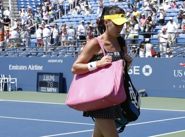 Agnieszka Radwańska szybko pożegnała się z US Open /PAP/EPA