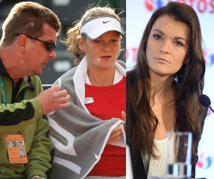 Agnieszka Radwańska uważa, że dziewczynom zazwyczaj podobają się faceci podobni do ojców /M.Wielgus/EastNews, Jarosław Antoniak/MWMedia /East News