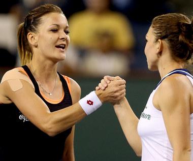 Agnieszka Radwańska w finale Indian Wells
