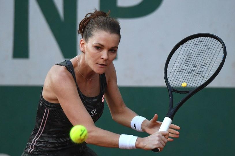 Agnieszka Radwańska w meczu z Fioną Ferro /AFP