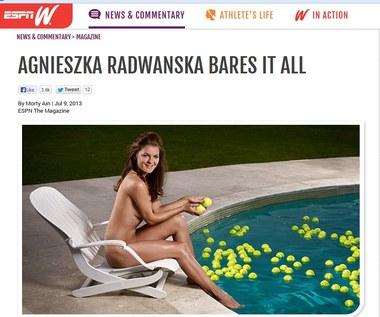 Agnieszka Radwańska w nagiej sesji dla ESPN