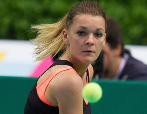 Agnieszka Radwańska w półfinale turnieju w Katowicach