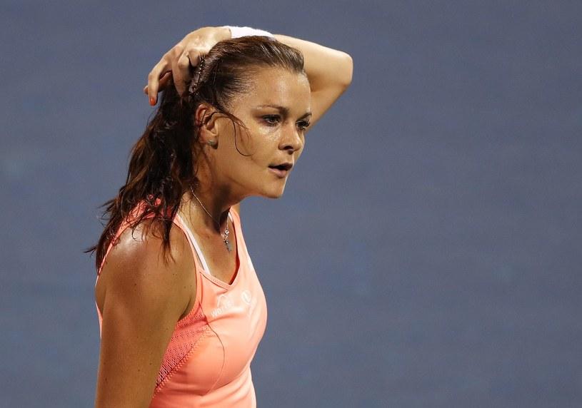 Agnieszka Radwańska w US Open /AFP