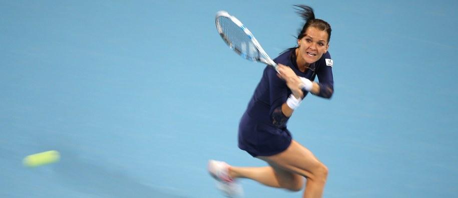 Agnieszka Radwańska wygrała ostatnio dwa turnieje w Azji /HOW HWEE YOUNG /PAP/EPA