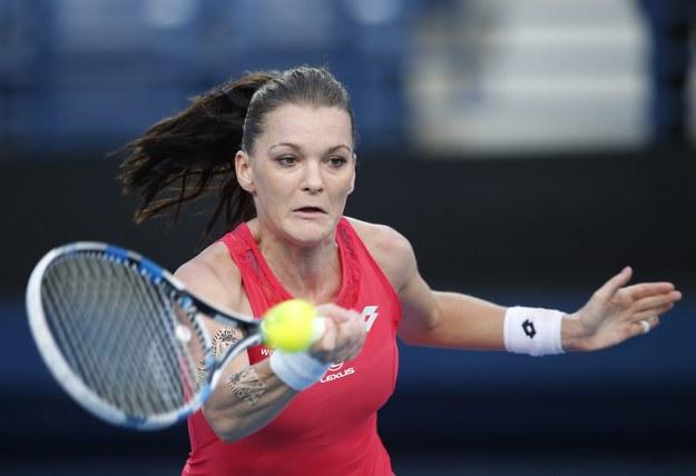 Agnieszka Radwańska wygrała tenisowy turniej WTA w chińskim Shenzen /ALI HAIDER   /PAP/EPA
