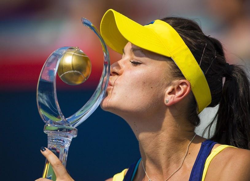 Agnieszka Radwańska wygrała turniej w Montrealu /PAP/EPA