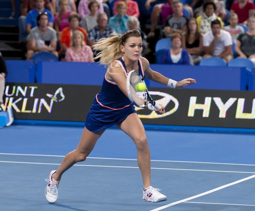 Agnieszka Radwańska wygrała wszystkie mecze singlowe w grupie /AFP