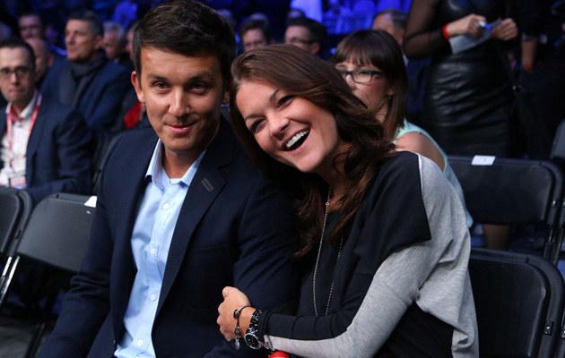Agnieszka Radwańska z ukochanym /Tomasz Jagodziński /East News