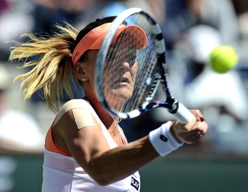 Agnieszka Radwańska za dotarcie do finału w Indian Wells dostała czek na pół miliona dolarów /PAP/EPA
