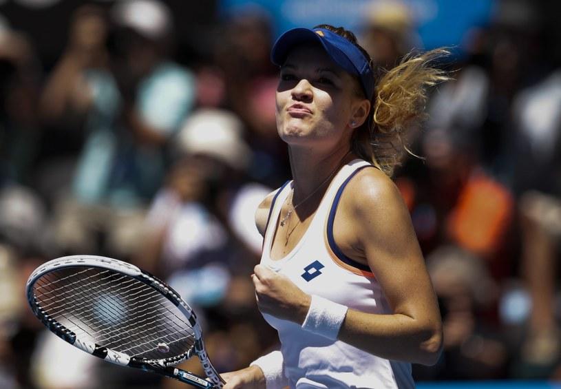 Agnieszka Radwańska zagra w półfinale Australian Open /PAP/EPA