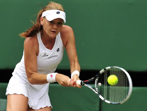 Agnieszka Radwańska zagrała w finale z Sereną Williams /AFP